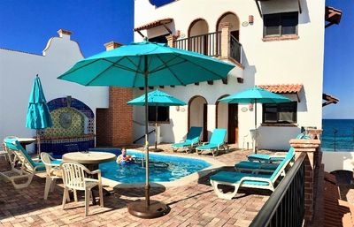 """Photo for Oceanside Villa """"Tampico"""" with a/c and pool"""