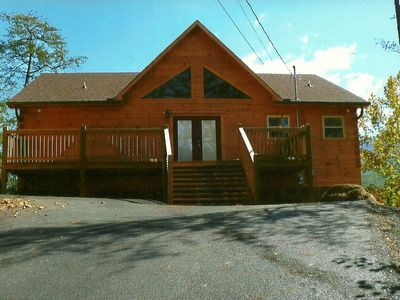 Photo for 5 Bedroom Cabin in Gatlinburg with Home Theater close to Rocky Top Sports comple
