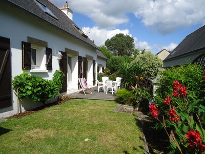 Photo for Charming house in Sainte Marine 350 m from the beach - Wifi