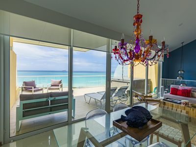 Photo for Wonderful Modern PH Duplex Family Friendly With The Best View Of The Caribbean