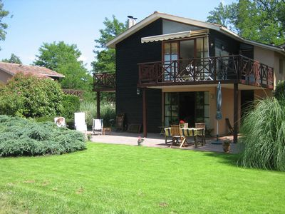 Photo for Luxurious detached villa in a nature reserve with a castle