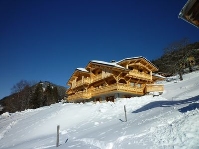 Photo for Upscale chalet not far from the ski slopes