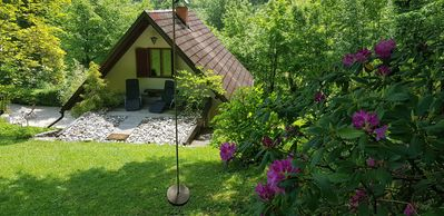 Photo for Family-friendly house ISKARETREAT on the private glade in the Iški vintgar gorge