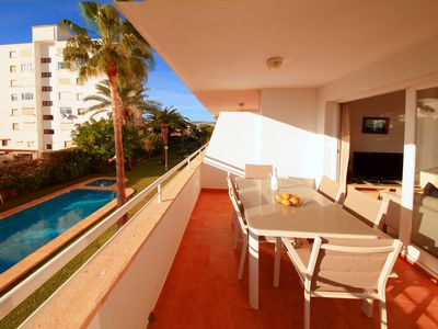 Photo for Casa Christina is a great family apartment only 100m from the beach
