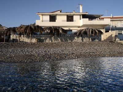 Photo for A 200 sq.m beautiful villa by the sea with three bedrooms and a lemon garden