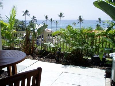 Photo for 2 Bedroom/2 Bath Ocean View with Pool in Gated Community on Alii Drive