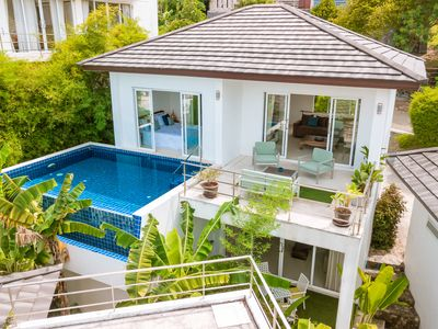 Photo for Villa 3 bedrooms / pool / small sea view / near Chaweng / quiet environment :)