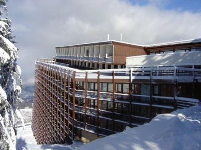 Photo for 100m from resort center, 8th floor, view valley, balcony, tv, 30m², Les Arcs