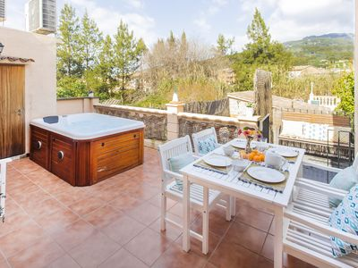Photo for Modern property in the heart of Sóller, with terrace and jacuzzi. WIFI FREE