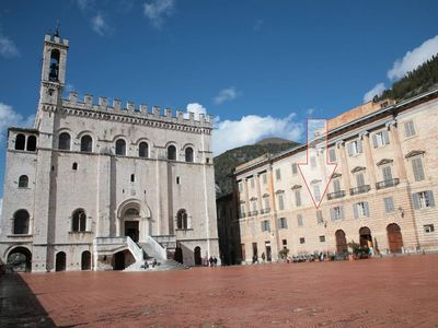 Photo for Sumptuous house with a view in one of the most beautiful squares in Italy.