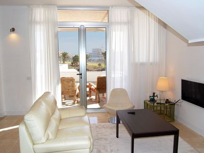 Photo for Amarilla Golf Villas - Unit 1 - luxury 3 bed with huge balcony and stunning views