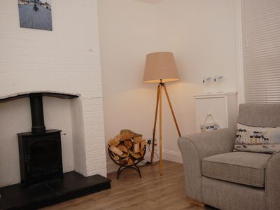 Photo for 22 Cliff Road -  stunning, beautifully renovated, contemporary, end terrace cottage
