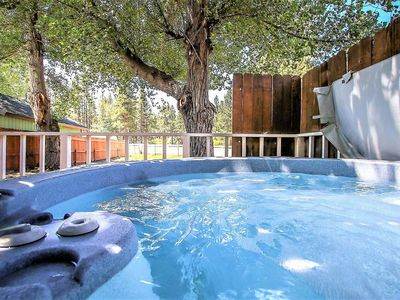 Photo for *WALK TO VILLAGE CHALET~Hot Tub~Pool Table~Fenced~