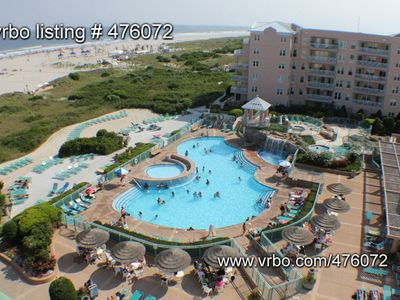 Photo for Seapointe Village TRUE 2BR - Wildwood Crest/Cape May Private Beach Getaway in NJ