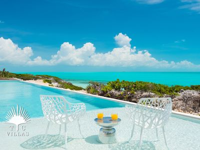 Photo for Breathtaking Views In Every Shade Of Blue Greet You At This Elegant Villa