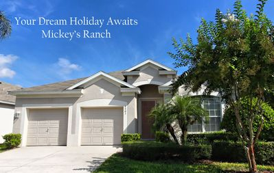 Photo for Mickeys Ranch 5-Star Rated - Closest to Pool Clubhouse Windsor Hills