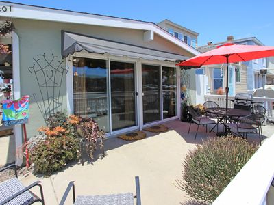 Photo for Lower Beach Duplex w/ Patio Near Everything on the Peninsula!
