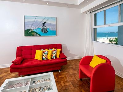 Photo for Huge 3 bedrooms for 8 persons in Copacabana!