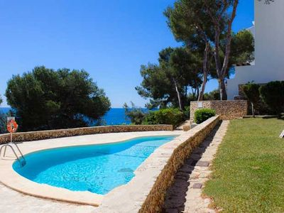 Photo for 2 bedroom Apartment, sleeps 5 in Cala Serena with Pool and Air Con
