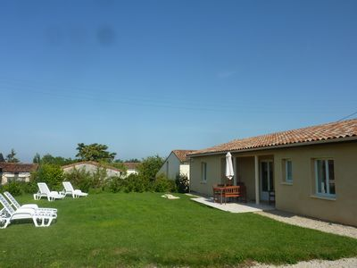 Photo for Modern Villa with Private Garden in rural French village