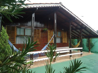 Photo for Tia Gê I House 700m from Thermas dos Laranjais Water Park