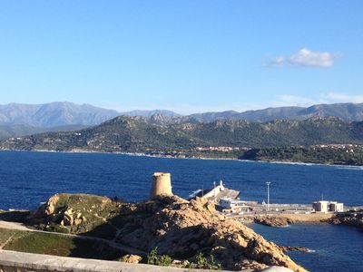 Photo for T3, duplex on the heights of Ile-Rousse, between St-Florent, and Calvi