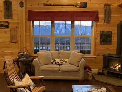 Photo for Ski chalet with stunning view of Elk Mountain