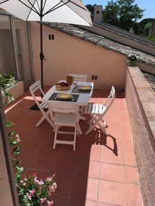 Photo for Saint Tropez center, luxury apartment with terrace and parking