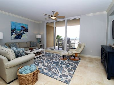 Photo for Indigo West 303- Beach Front View with Luxurious Interior and Amenities!