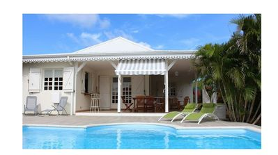 Photo for Ste-Anne VILLA MADININA, near the beaches, private pool, air conditioning, free WIFI