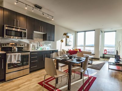 Photo for Modern dog-friendly condo right in the middle of Belltown!