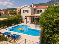 Villa is in a quiet area and excellent for a relaxing break, with lovely views across the sea. Th...