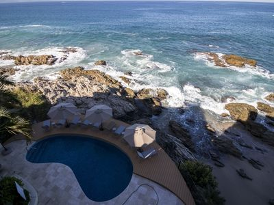 Photo for Conchas chinas ocean front condo with all the amenities that you need.