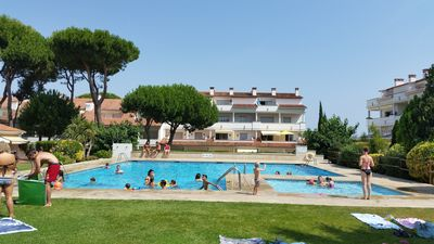 Photo for Apartment Gran Sol, Ideal for families, tranquility and space very carefully