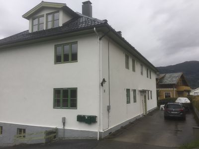 Photo for Spacious apartment in Sogndal center. Short road to mountain and fjord.