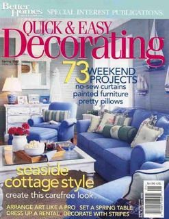 featured on the cover of better homes and gardens quick and easy decorating - Better Homes And Gardens Rentals