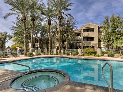 Photo for Phoenix Condo w/Lake, Heated Pool & Jacuzzi Access