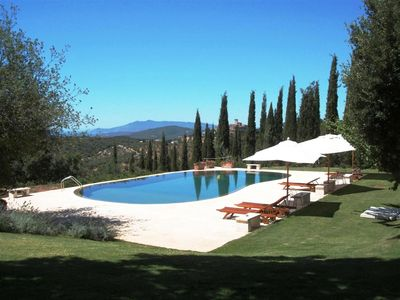 Photo for Tuscany, Capalbio - Prestigious and characteristic villa with swimming pool