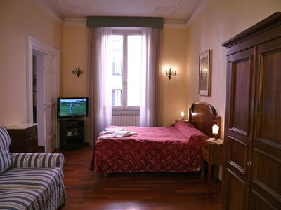Photo for Mercede Home,real roman home,cozy and comfortable,beautiful hardwood floors, close to Spanish Steps