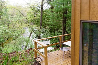 Amazing hill top views - Amazing hill top views of the Pere Marquette River.
