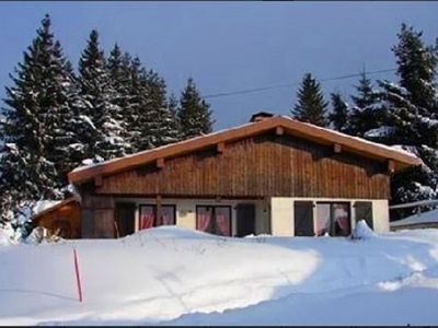 Photo for Very nice chalet 8 people, wood interior, in the haut-jura (25)