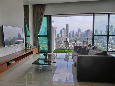 Photo for [LUXURY] 3 Rooms 6 Pax Stay with KLCC View