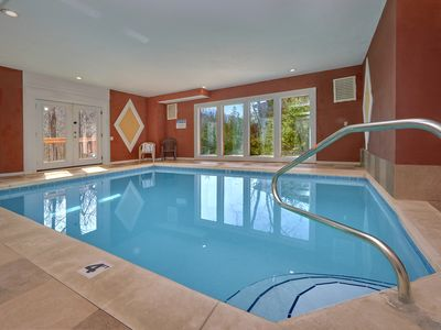 Photo for Private Heated Indoor Pool and Theater Room - Sleeps 18 Guests