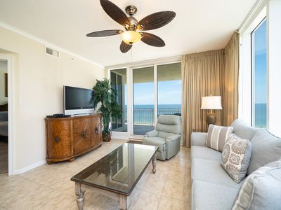 The Colonnades 703 | Beachfront 4BD/4BA | New Living/Dining Room Furniture