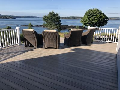 Photo for Watch the whales from your deck!