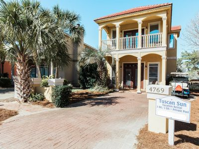 Photo for Tuscan Sun - 3Br/3Ba - Private Pool & Golf Cart