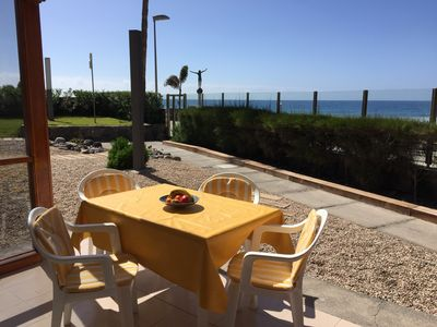 Photo for Top apartment with sea views right on the beach