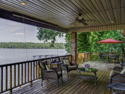 Photo for Centrally Located Lake House with a Secluded Feel *Boat Slip Included*