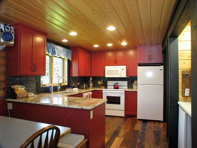 Full kitchen with everything you'll need,