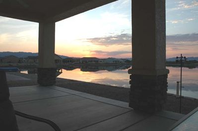 Sunset from the Patio